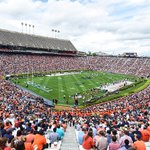 A-Day | Thank you #AuburnFamily for your support today! We have the best fans! #WarEagle http://t.co/XEDs1l5DKv
