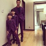 Oh Wow!  @iHrithik with his sons Hrehaan and Hridhaan
