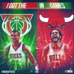 #BULLSvBUCKS Game 1 tips off at 7pm/et on ESPN! #NBAPlayoffs http://t.co/4l5G7Lp1Tf