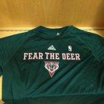 Fear The Deer! #BucksPlayoffs http://t.co/EoaIiSuSRk