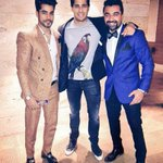 Ek number picture....  Gautam Gulati with @S1dharthM and @AjazkhanActor