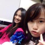 Dikereta nihh ! 1 bangku ama @Acha_JKT48 !! Masih muka bantalll http://t.co/EJvtRziJWw