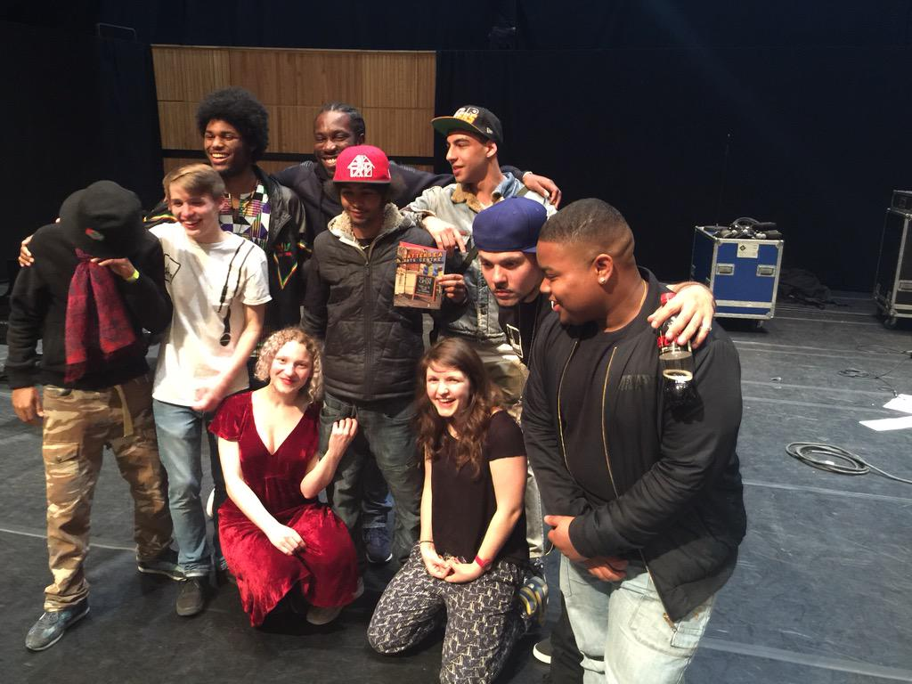 @BACHomegrown @battersea_arts @BACBeatboxAcad the Beatbox academy smashed it down tonight! http://t.co/OYjmX0RyET