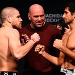 É hora da última luta do card preliminar do UFC. Quem leva? Dariush ou Miller? SIGA!  http://t.co/3Qw9PUX1K0 http://t.co/EAVpjtQNTg