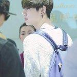 150411 #Mark at Chongqing airport to Beijing 맠모닝~ Mark Morning!! http://t.co/WfzHtqkTZA http://t.co/hMZJIQ6uOJ