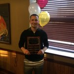 Our job goes beyond student athletes. Congrats to Donald Hermanson @dhermanson2 for winning preceptor of the year! http://t.co/zDxT3HALIy