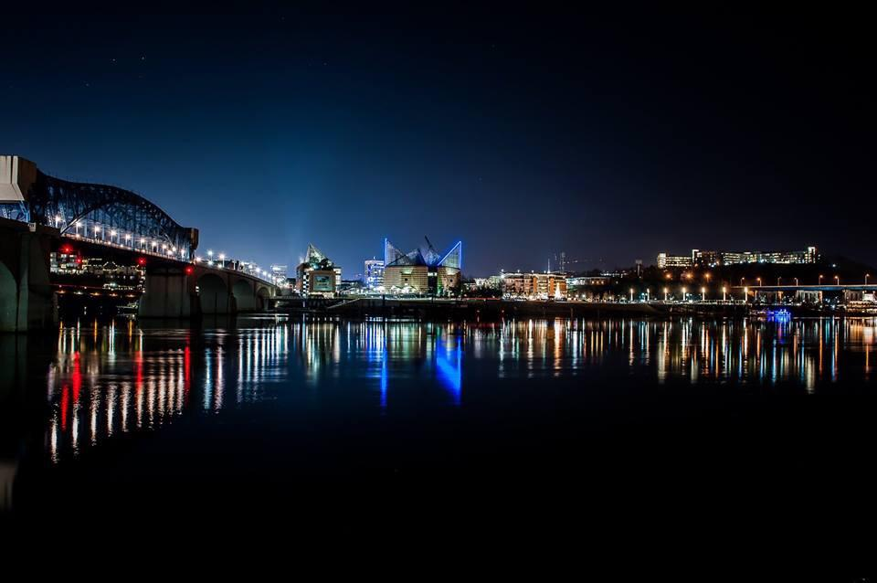 Gorgeous night shot of Chattanooga available through @damonsphoto http://t.co/bIJqMqPmiV