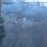 Were far from it, but the hum of fire truck engine & buzz of chain saws carry this way #mtlemmon #tucson http://t.co/Lah4Sn8Okm