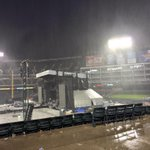 NBCDFW: RT KrisGutierrez: Pounding rain and strong winds blowing through #GlobeLifePark for #ACMPartyForACause The… http://t.co/PXQEla1GNL