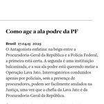 QUEM DEVE SER ESSA ALA PODRE DA PF citada na reportagem de @o_antagonista? #FIMdoINQUÉRITO http://t.co/XxF0Z0DXKe http://t.co/MzZkIGdzeJ