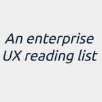 An enterprise UX reading list  http://t.co/XO5F1DUKNf #ux #webdesign http://t.co/3lb18zR9Rx