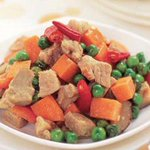 RECIPE: Hot diced pork. This is spicy and hot and goes well with Chinese congee or noodles. http://t.co/XP8RBv56MY http://t.co/wYm4VjFVSI