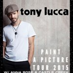 RT @ClubCafeLive: TONIGHT! Tony Lucca (@luccadoes) with @AnnaRoseMusic + @CastleCreekBand! $16, Doors 7pm, Tix: http://t.co/78LhMbPofu http…