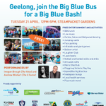 Getting excited for the @beyondblue Big Blue Bash in #Geelong – only 2 days to go! http://t.co/eGJlLrmyfU