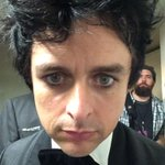 .@BJAOfficial snaps a #RockHall2015 selfie. @GreenDay was inducted into @rock_hall tonight. (Airs on HBO 5/30) http://t.co/jg9ufM9zql