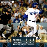 That's a wrap! The #Dodgers keep the win streak alive, beating the Rockies 6-3 tonight for their 6th straight win! http://t.co/37mloyDK2C