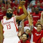 Rockets win! Take game 1 vs Mavs 118-108 #Predictable  Harden: 24p/11a Ariza: 12p/11r Jones: 19p/9r Brewer: 13p in Q4 http://t.co/vS3vzje2IG