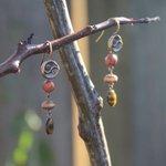 Beaded earrings brown earrings boho jewelry cheap by JabberDuck http://t.co/Ez0yJSVnuT http://t.co/c5e3kayapJ