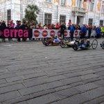 #mezzadigenova h9.17 partita la gara di handbike! #genovamorethanthis http://t.co/JigU2lsHTm