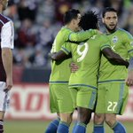1⃣ goal for Oba. 2⃣ goals for Lamar. 3⃣ points for Seattle. #COLvSEA --> http://t.co/TnW4aEdD98 http://t.co/Y2UDhaxP29