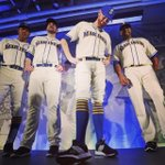 Tomorrow @James_Paxton & the guys debut the new unis at 1:10pm @ Safeco Field. See you here! http://t.co/4hF8iPPzpn