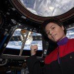 """@mashable: ISS astronaut takes the most epic Star Trek selfie ever: http://t.co/Ij4KMOWwZQ http://t.co/YAg7ctDtCn""  This is the best..."