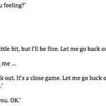 An end-of-6th-inning dugout conversation between Felix Hernandez and Lloyd McClendon, as told by Hernandez. http://t.co/7coqxQFy5t