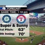 Catch the #boysofsummer on a perfect spring day! Open roof @safeco_field & 70 degrees in #Seattle Sunday. #SEAvsTEX http://t.co/MaxXdsPwZN