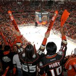 Its over at the Honda Center. Ducks score game-winner with :19 remaining, beat Jets, 2-1. Anaheim leads series 2-0. http://t.co/R9vjFY25TD
