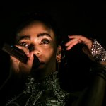My life is complete. Photographed @FKAtwigs sensual and fiery performance at #Coachella! http://t.co/bEhK37Itga http://t.co/0ijQ3hp44o