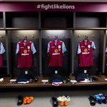 VILLA AT WEMBLEY: Inside our dressing room. Full gallery here: http://t.co/5VKidtVnNV #AVFC #FightLikeLions http://t.co/4XHNDS6IPr