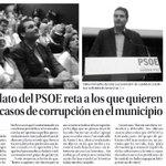 El acto del @PSOESantaCruzTF junto a @PatriciaHdezGut, nuestra candidata a la Presidencia, hoy en la prensa http://t.co/bP4dM6wZBt