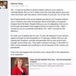 Fantastic response from @SeamusCarey to Breda OBriens latest article. #MarRef #VoteYes http://t.co/0rRLViZEqb