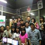 D! RADIO team dan @officialJKT48. Terimakasih sudah hadir ditempat kita . ^-^ http://t.co/O55g3JxdLZ
