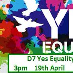 For everyone around Dublin 7 today. #MarRef @YesEquality2015 @YesEqualityD7 http://t.co/Cae7M3HGk2