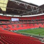 Wembley is ready... #LFC http://t.co/ti1rMItdy5