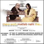 RT @actorprepares: Upcoming shows of #Merawohmatlabnahitha on 15th,16th,23rd & 24th May. Book early:-) Tickets @bookmyshow @AnupamPkher htt…