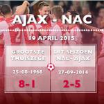 #Matchfact: Wordt het opnieuw een doelpuntrijk duel vandaag? #ajanac http://t.co/1P6Oe9dtL3