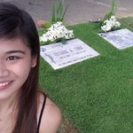 Its been 2 weeks since i last visited you papa. Smile,lets take your favorite selfie! I miss you so much ???? http://t.co/0tcXusNMTo