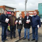 Sunday morning leaflet drop for #MarRef ...quick photo as we await the rest of the troops! #voteyes @labour #fingal http://t.co/B6z07FXuf7