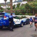 Imagen de la carrera #Maratón #SCExtreme15 a su paso por Taganana. Destacable esfuerzo el de estos deportistas. http://t.co/abFqrfghMh