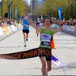 Winnares van de hele marathon, Mireille Baart. Met een tijd van: 2.51.48 #EM15 #marathon http://t.co/kSu3RZ1Yh6