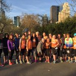 The ladies are ready to rock the @morefitnesshalf this morning! #RunForTODAY http://t.co/5roxLZkzm3