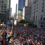 The elite women are off & running at the #sunrun. These masses to follow shortly. http://t.co/vL5qSHjrOw