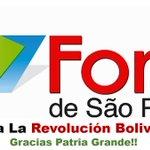 .@MercalOficial Venezuela No es una amenaza, somos esperanza #ForoSaoPauloNosApoya http://t.co/oqoCOzoE8X