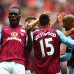 Aston Villa fought back to beat Liverpool 2-1 at Wembley and set up #FACup final v Arsenal - http://t.co/n13EirCe4m http://t.co/ZfldcPe0cL
