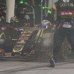LAP 44/57: Maldonado pits with engine trouble and returns to the fray in P15 #BahrainGP #F1atTwilight http://t.co/bzMRKiZNKL