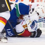 Stanley Cup Playoffs: Chokehold nearly sent Canucks goaltender @eddielack over ledge http://t.co/a45qqeoeld http://t.co/eP8TK7pFdB