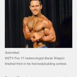 So proud of my @wztv_fox17 #meteorologist, @Barak_Shapiro! Details in the @Tennessean.. http://t.co/wRpgW7W0RB http://t.co/KAVqBFCfYf