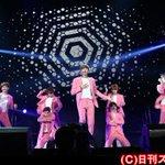 EXOが19日、横浜アリーナでファンクラブイベントを行った。17日からこの日までの3日間で5公演を実施、5万5000人を動員。 http://t.co/tft9hd5le0 http://t.co/TnFkG3wonB